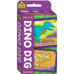 School Zone Card Game Dino Dig