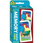 School Zone Card Game Memory Match Farm