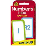 School Zone Flash Cards, Number 1-100