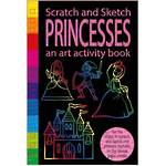 Scratch and Sketch Princesses Activity Book