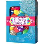 Seedling My Pom Pom Jewellery Kit