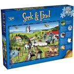 Seek & Find The Farm Puzzle (300XL)