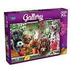 Gallery Shelf Puppies 300XL Puzzle