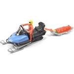 Siku 1684 Snow Mobile With Rescue Sledge