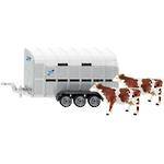 Siku 2890 Ifor-Williams Stock Trailer with Cows
