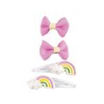 Snap Happy Rainbow Hairclip