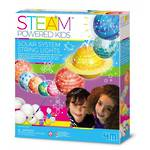 4M Steam Powered Girls Solar System String Lights