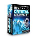 Space Age Crystal Growing Kit Frozen Aquamarine
