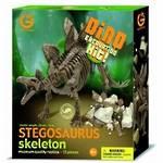 Dino Excavtion Kit Stegosaurus Skeleton
