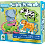 The Learning Journey My First Shaped Puzzle - Safari Friends