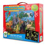 The Learning Journey Puzzle Doubles Glow In The Dark Wildlife