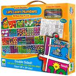 The Learning Journey Puzzle Doubles! Let's Learn Numbers Floor Puzzle