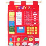 Today Is Children's Calendar Wall Chart