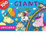 Unicorn Giant Colouring Pad