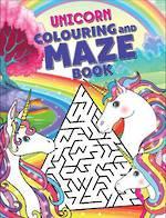 Unicorn Colouring and Maze Book