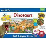 Whiz Kids Dinosaurs Book & Jigsaw Set