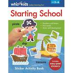 Whiz Kids Starting School Sticker Activity Book