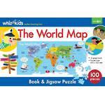 Whiz Kids The World Map Book & Jigsaw Set