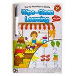 Wipe-Clean Learning Early Numbers Skills
