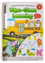 Wipe-Clean Learning Getting Ready for Big School