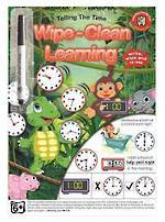Wipe-Clean Learning Telling The Time