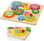 Wooden Toys Spinning Gears