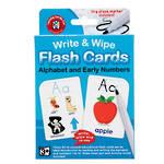 Write & Wipe Flashcards Alphabet W/Marker