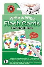 Write & Wipe Flashcards Preschool Skills