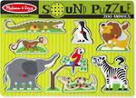 Melissa & Doug Sound Puzzle Zoo Animals
