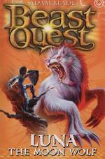 Beast Quest Series 4 - Luna The Moon Wolf