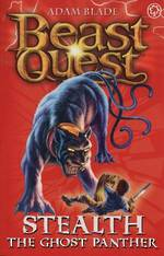 Beast Quest Series 4 - Stealth The Ghost Panther