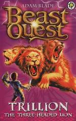 Beast Quest Series 2 - Trillion The Three-Headed Lion