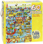 Cobble Hill 60p Puzzle Boat Race