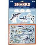 Crocodile Creek Sharks Puzzle & Playset 48pcs