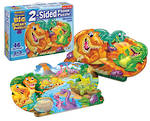 Two Sided Floor Puzzle Dinosaurs
