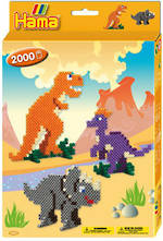 Hama Boxed Set Dinosaurs 2000 Beads H3434