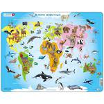 Larsen Tray Puzzle - Animals Of The World 28 pieces