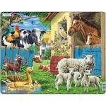 Larsen Tray Puzzle Farm Animal