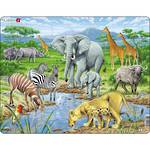 Larsen Tray Puzzle - Savannah 65 pieces