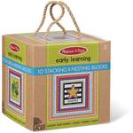 Melissa & Doug Early Learning 10 Stacking & Nesting Blocks - Shapes