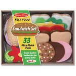 Melissa & Doug Felt Food Sandwich Set