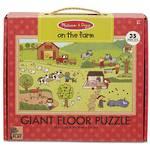 Melissa & Doug Giant Floor Puzzle - On The Farm 35 Pieces