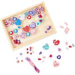 Melissa And Doug Wooden - Heart Bead Kit
