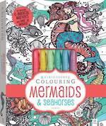 Kaleidoscope colouring Mermaids & Seahorses