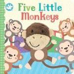 Five Little Monkeys  Board Book With Finger Puppet