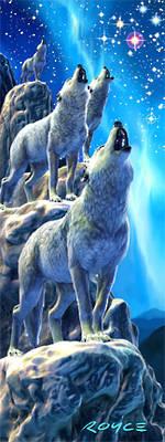 3D Bookmark - Northern Choir