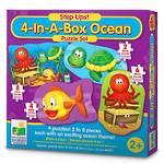 4 in a Box - Ocean