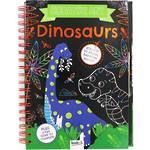 Scratch Art Dinosaurs