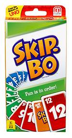 SkipBo Card Game