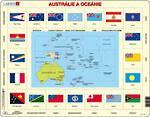 Larsen Tray Puzzle - Australia & Oceania